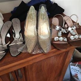 Fantastic designer shoes, boots, clothes, coats, purses
