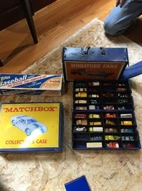 2 Boxes of vintage matchboxes Lesney
