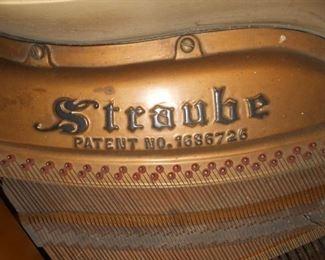Straube baby grand piano