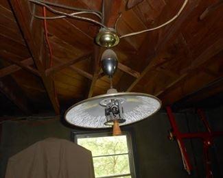2nd Retro light fixture in basement