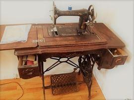 Antique Minnesota Treadle Sewing Machine