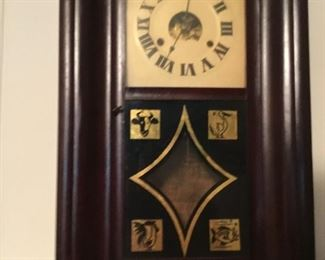 Magnificent mantle clock