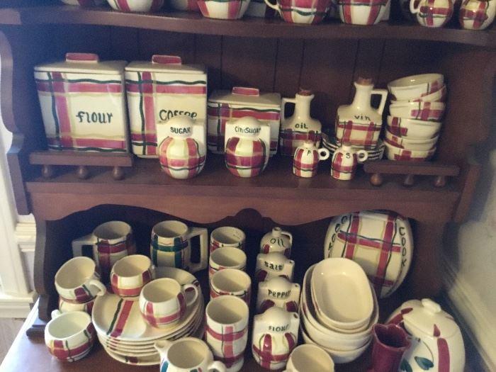 Lots of china, Massive set of Puritan