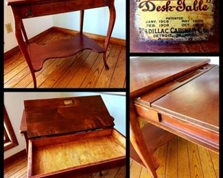 vintage mahogany Desk-Table