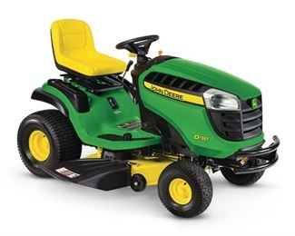 John Deere D130 riding lawnmower