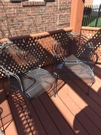 VINTAGE PATIO CHAIRS-4 AVAILABLE
