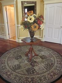 INLAID ACCENT TABLES FOR ANY ROOM MANY RUGS TO CHOOSE FROM