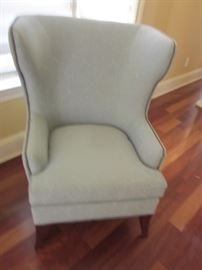 KINCAID PAIR OF WING BACK CHAIRS