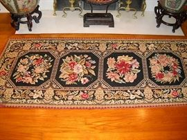 FLORAL EMBROIDERY RUG