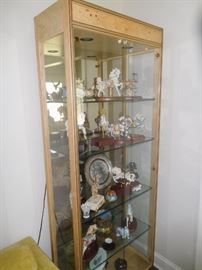 There are 2 of these display cabinets.