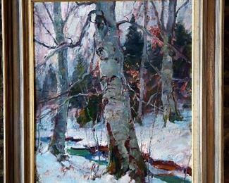 Emile Gruppe - Winter Birches