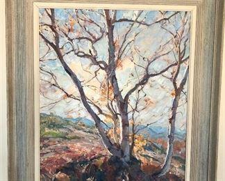 Emile Gruppe - Autumn Birches