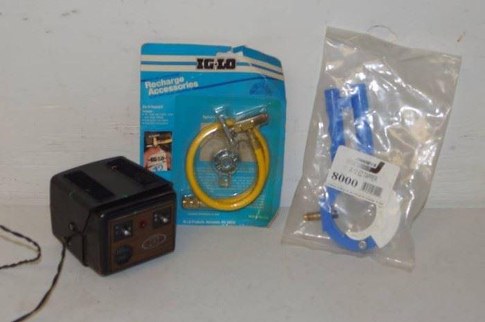AC Freon Tools and Bonus Old School Radar Detector