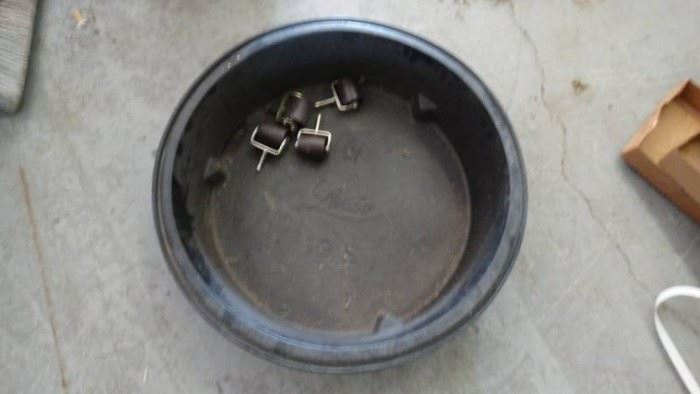 Big Hard Plastic Oil Pan 12S