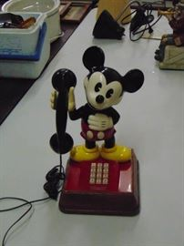 COLLECTIBLE Mickey Mouse Phone