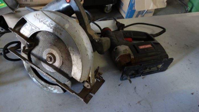Craftsman Jigsaw, Skilsaw 71 4 Circular Saw