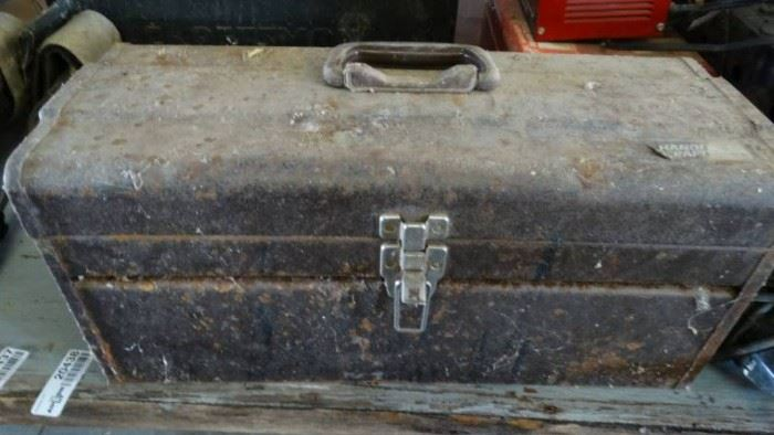 Handi Craft Tool Box with Contents