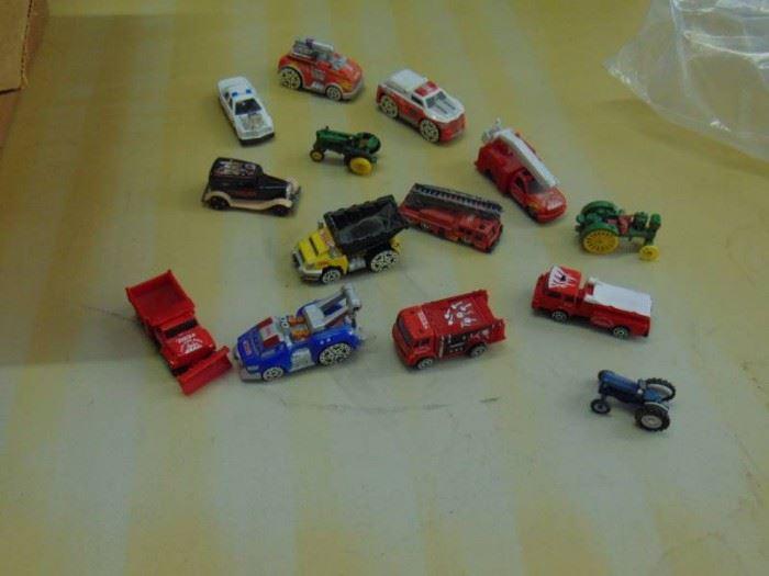 metal toy cars various brands