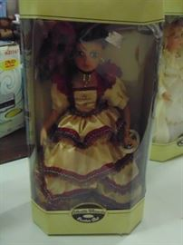 New in Box Collectible Porcelain Doll