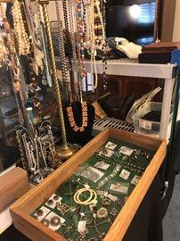 sample of costume jewelry