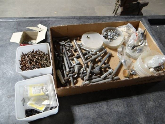 Lot of fasteners.
