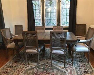 Restoration Hardware Dining Room Set
