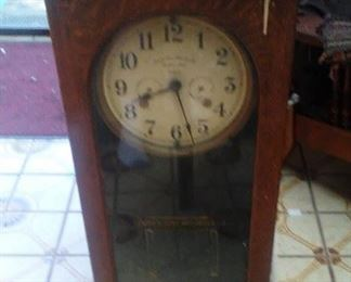SIMMONS ELECTRIC TIME CLOCK