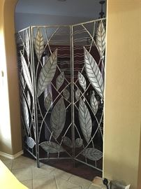 Fabulous,  solid steel room divider!