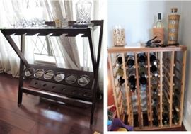 Wine and bar furniture - lots of storage