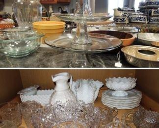 American brilliant cut glass - kitchen ware