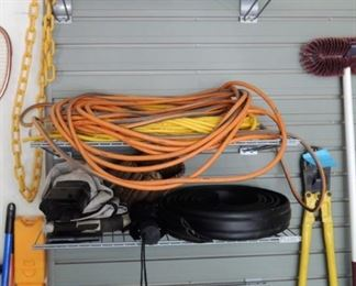 Heavy extension Cords