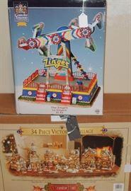 Christmas by Department 56, Snow Babies, Mr. Christmas, Carole Town, Grandeur Noel