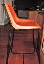 Leather-Like bar chairs - set of 2