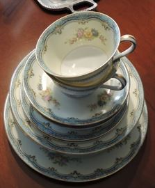 Noritake china - perfect for Easter!