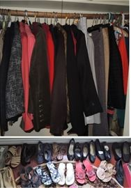 women's clothes and shoes.  Small Clothes 2-4 AND Large clothes XXL to 4X