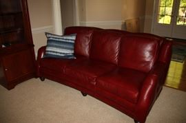 Hancock & Moore Leather Sofa ~ only a year old