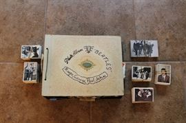 Beatles Topps Trading Card Series 1-3, Vintage Scrap Book