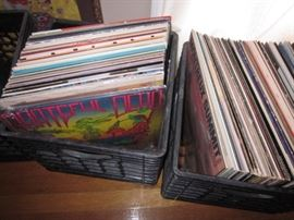 ALBUM LOVERS LARGE 1960'S ROCK N ROLL & JAZZ ALBUM COLLECTION ~ 45'S AND MORE