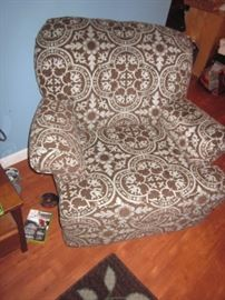 RAYMOUR & FLANNIGAN ARM CHAIR SEATING