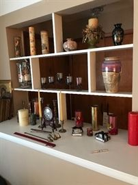 Candles and more décor!