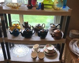 Teapots and glass!
