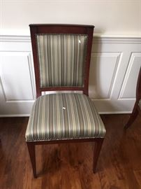 HENREDON DINING SIDE CHAIRS WITH SMITHE KOTE (4 AVAILABLE)