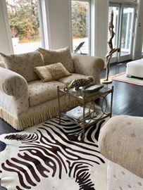 Zebra rug...a pair!
