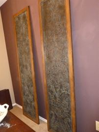 Pair of Metal Wall Hangings