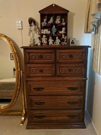 $75  Tall chest of drawers