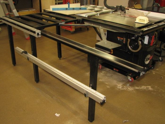 Excalibar tablesaw extension