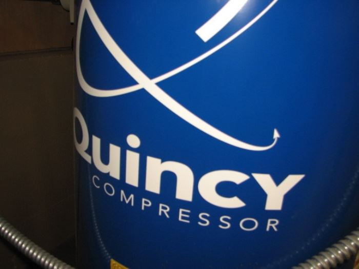 Quincy commercial air compressor