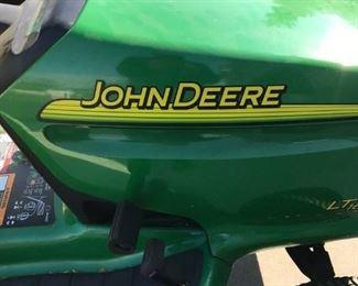 """JOHN DEER LT 160 AUTOMATIC /  FREEDOM 42"""""""