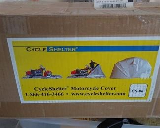 CYCLE SHELTER / MOTORCYCLE COVER