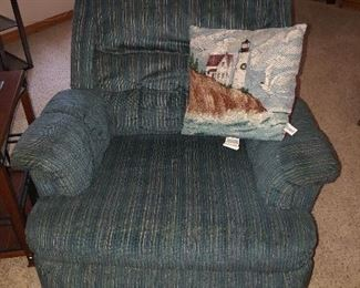 kick back and relax with this cozy recliner!!